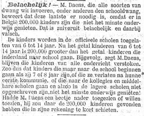 Nieuws van den dag 1897-05-18 Belachelijk!