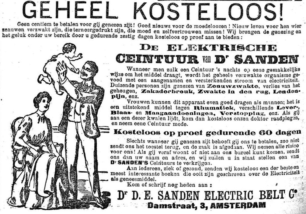 Nieuws van den dag 1907-10-09 geheel kosteloos