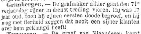 Het Nieuws Van Den Dag, 1 september 1894 Alleen tevreden klanten!