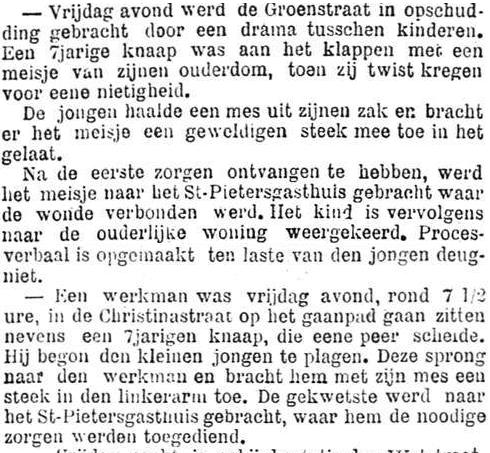 Het Nieuws Van Den Dag, 1 september 1894 Geweld is van alle leeftijden
