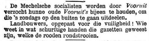 Het Nieuws Van Den Dag, 10 september 1894 Schurftig