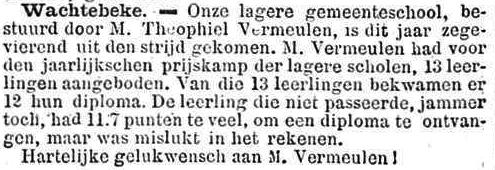 Het Nieuws Van Den Dag, 14 oktober 1894 11,7 punten te veel