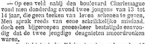 Het Nieuws Van Den Dag, 15 september 1894 Vals alarm