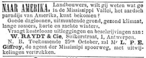 Het Nieuws Van Den Dag, 17 september 1894 Naar Amerika