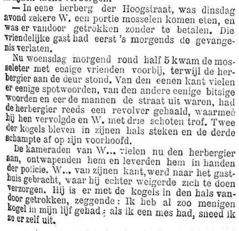 Het Nieuws Van Den Dag, 2 augustus 1894 tis but a flesh wound