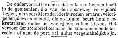 Het Nieuws Van Den Dag, 2 oktober 1894 Ervaren velocipederijders