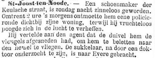 Het Nieuws Van Den Dag, 21 augustus 1894 De Duivel!