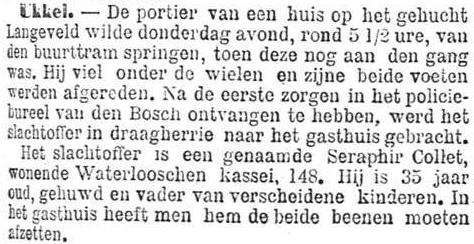 Het Nieuws Van Den Dag, 22 september 1894 Vader van verscheidene kinderen
