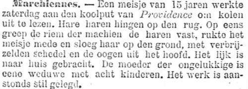 Het Nieuws Van Den Dag, 23 juli 1894 haar haren hingen op de rug