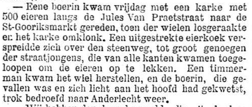 Het Nieuws Van Den Dag, 25 augustus 1894 Bedroefde boerin