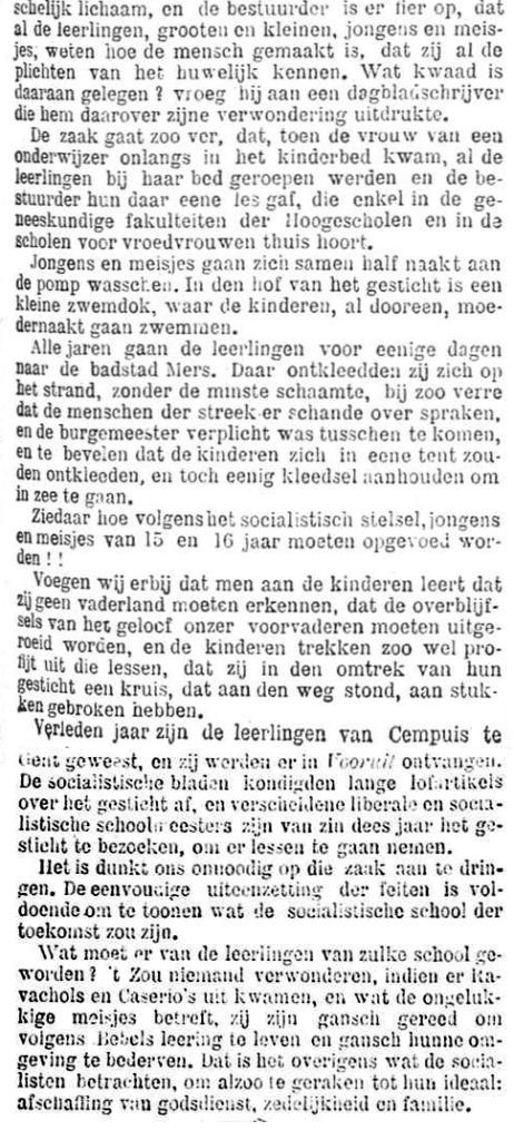 Het Nieuws Van Den Dag, 25 augustus 1894 De school van de toekomst b