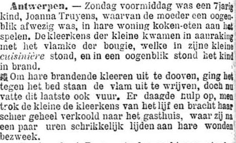 Het Nieuws Van Den Dag, 25 september 1894 Koken-eten spelen