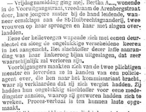 Het Nieuws Van Den Dag, 4 augustus 1894 Vergist