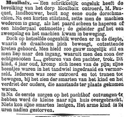 Het Nieuws Van Den Dag, 5 oktober 1894 Iedereen was zeer ontroerd