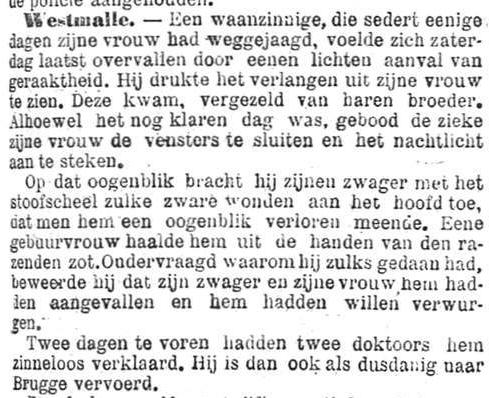 Het Nieuws Van Den Dag, 5 september 1894 Met het stoofscheel