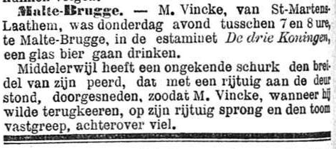 Het Nieuws Van Den Dag, 6 oktober 1894 Schurkenstreek