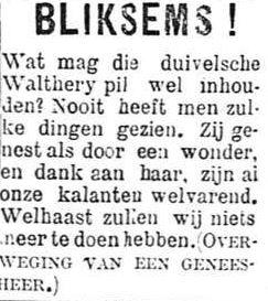 Het Nieuws Van Den Dag, 7 augustus 1894 Bliksems!