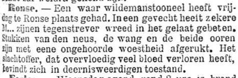 Het Nieuws Van Den Dag, 8 oktober 1894 Wildemanstoneel