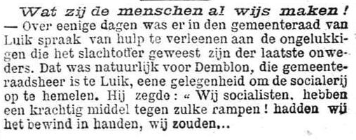 Nieuws van den dag 1898-07-31 scoialisten, meneer