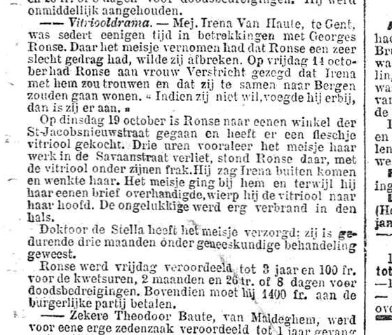 Nieuws van den dag 1905-01-1 vitriooldrama