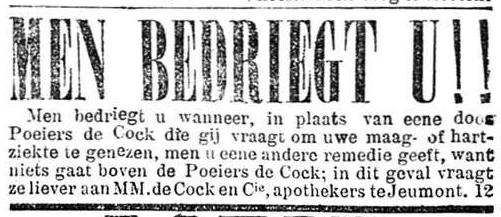Nieuws van den dag 1905-07-28 men bedriegt u!