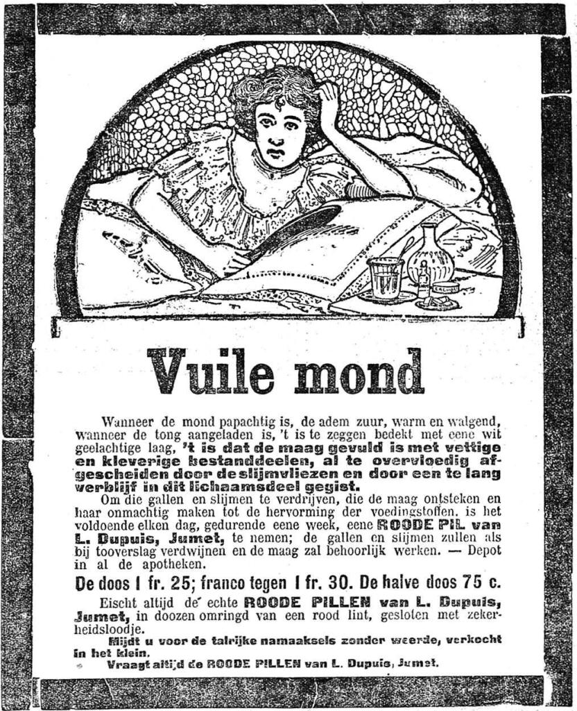 Nieuws van den dag 1907-11-15 wanneer de mond papachtig is