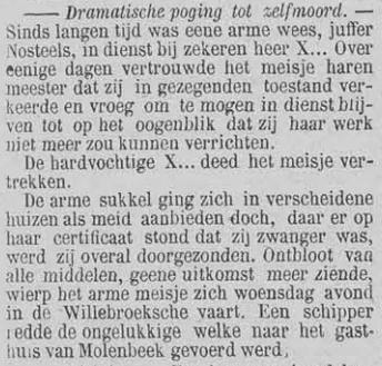Vooruit, 8 september 1894 Ontbloot van alle middelen