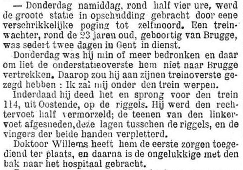 Het Nieuws Van Den Dag,  10 november 1894 Zo gezegd, zo gedaan