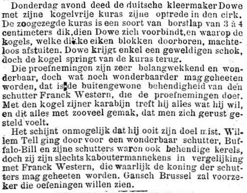 Het Nieuws Van Den Dag,  2 november 1894 Slechts kaboutermannekes