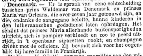 Het Nieuws Van Den Dag, 24 november 1894 In pompier verkleed