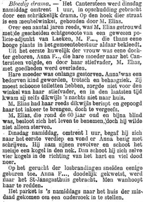 Het Nieuws Van Den Dag,  6 november 1894 Een bedorven kind, trots en behaagziek